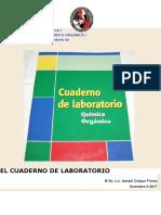 QUÍMICA ORGANICA I-cuaderno de Laboratorio