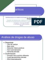 Interferencias en La Medición de Drogas de Abuso en Orina
