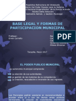 Bases Legales de La Participacion Municipal