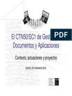 Gestion de documentos y aplicaciones