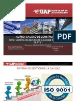 Sesion 04 Calidad de La Contruccion -Tema Iso 9001-2008 a Iso 9001-2015 Tema 1