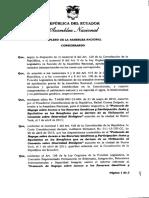 Resolucion Que Aprueba El Protocolo de Nagoya Sobre Acceso a Los Recursos Geneticos y Participacion Justa y Equitativa en Los Beneficios Que Se Deriven de Su Utilizacion Al Convenio Sobre Biodiversidad Biologica 15-0