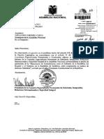 Informe de Comision Sobre El Pedido de Aprobacion Del Memorando de Entendimiento Entre Ecuador y Sudafrica Sobre Cooperacion en Asuntos de Defensa e Industrial Enviado Por El Presidente de La Republica 09-04-2013 0