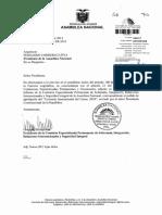 Informe de Comision Sobre El Pedido de Aprobacion Del Convenio Internacional Del Cacao 2010 Enviado Por El Presidente de La Republica 11-04-2013 0