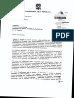 Solicitud Del Presidente de La Republica Para Que La Asamblea Nacional Apruebe La Denuncia Del Tratado Entre Ecuador y Los Estados Unidos de America Sobre Promocion y Proteccion de Inversiones 08-03-2013