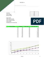 Plantilla de Excel Para Calculo de Costo Variable y Costo Fijo