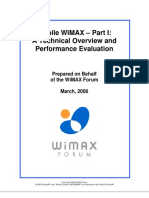 Mobile WiMAX- Part 1-Overview and Performance