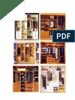 Melamina - Closet y Otros Modelos