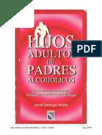Janet Geringer Woititz - Hijos Adultos de Padres Alcoholicos