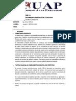 informe 1-PLANIFICACIÓN Y ORDENAMIENTO AMBIENTAL DEL TERRITORIO-PERU