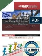 Sesion 04 Calidad de La Contruccion -Tema Iso 9001-2008 a Iso 9001-2015 Tema 3 Trabajo