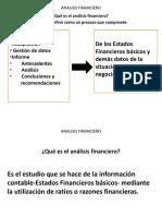 Analisis Financiero Finanzas