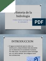 Historia de la hidrologia cristian.pptx