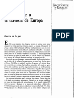 Ernst Junger o La Travesia de Europa