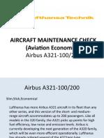 Aircraft Maintenance Check