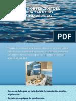 3.- Usos y Obtención Del Agua Para Uso Farmacéutico