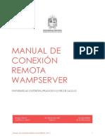Manual de Conexión Wampserver