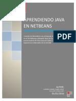 Aprendiendo Java en NetBeans