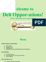 Feelgood Deli Operations