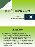 Detektor dan Alarm