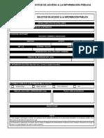 Formato Transparencia de La Información