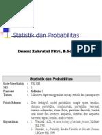 Modul I. Statistik Probabilitas Materi (Scribd)