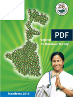 West Bengal Manifesto-All India Trinamool Congress 2016