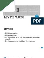Unidad II-ley de Gauss