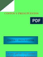 Costos y Presupuestos 1