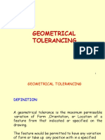 5 Geometrical Tolerancing