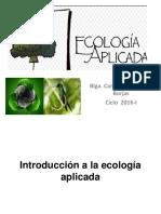 Clase 1 Ecologia Aplicada 2016-I OK
