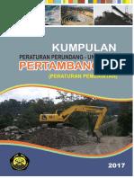 Cover Peraturan Tambang PP
