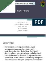 sentrifusi