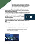 El Perfil Profesional Del Ingeniero Electrónico Expresa Las Características Relevantes de La Nueva Currícula y Programa de Estudios Elaborado Acorde Con Las Necesidades Del País en La Actualidad