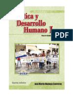 25 Etica y Desarrollo Humano I