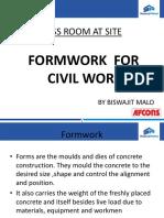 Formwork - by Vishwajit Malo