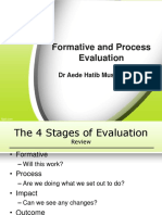 Formative and Process Evaluation-Ahm