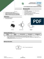 Transistor FZT491