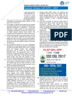 Banking Current Affairs August Edition
