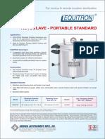 Brosure Portable Standard 7407ST