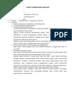 Script Pemasangan Gelang Identifikasi