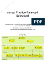 Dental Practice BSC Report