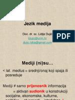 Jezik medija
