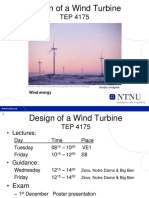 1.1.Intro Design of a Wind Turbine