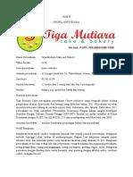 Profil Tiga Mutiara Cake
