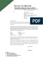Draft Grab Klaten