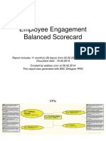 Employee Engagement BSC Report