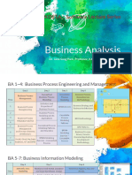 Business Analysis Lecture Series