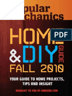Popular Mechanics. HOME & DIY GUIDE - Fall 2010