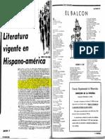 Marcha nº 1216 31 Jul 64 - Literatura vigente en Hispanoamérica